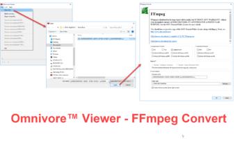 Omnivore Viewer - FFmpeg Convert