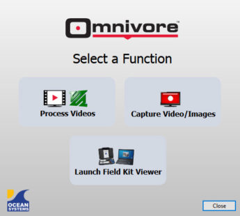 Omnivore™ v3.5 Select a Function window.