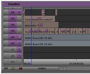 Media Composer Timeline
