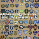 Agencies Trained Badges