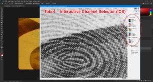 ICS shown in Adobe Photoshop 2021